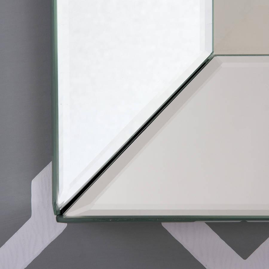 Bevelled All Glass Mirrordecorative Mirrors Online With Regard To Bevelled Mirror Glass (Image 4 of 20)