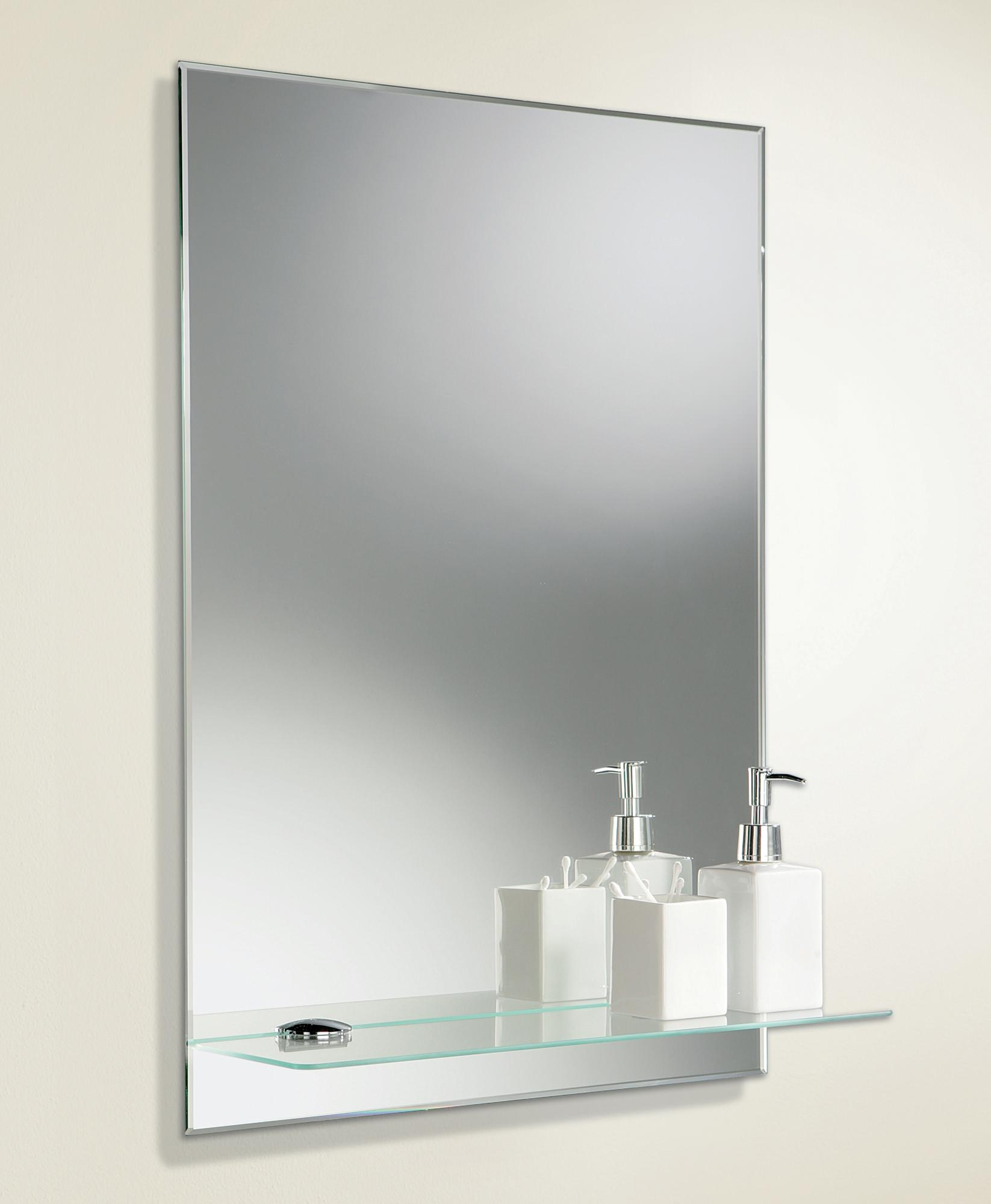 Bevelled Edge Bathroom Mirror – Harpsounds (Image 5 of 20)