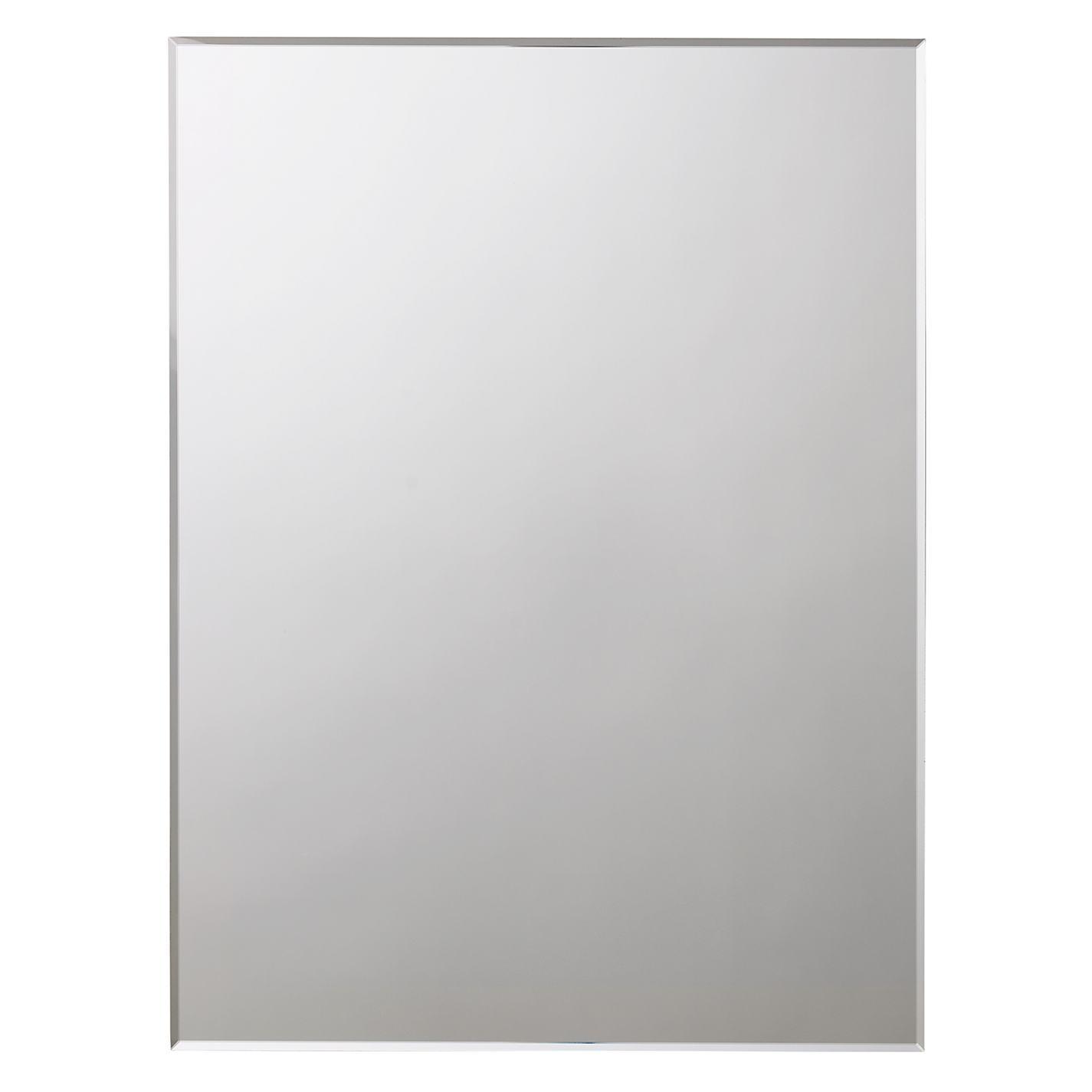 Bevelled Edge Bathroom Mirror – Harpsounds (View 6 of 20)