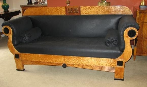 Biedermeier Sofa For Sale At 1Stdibs Throughout Biedermeier Sofas (Image 15 of 20)