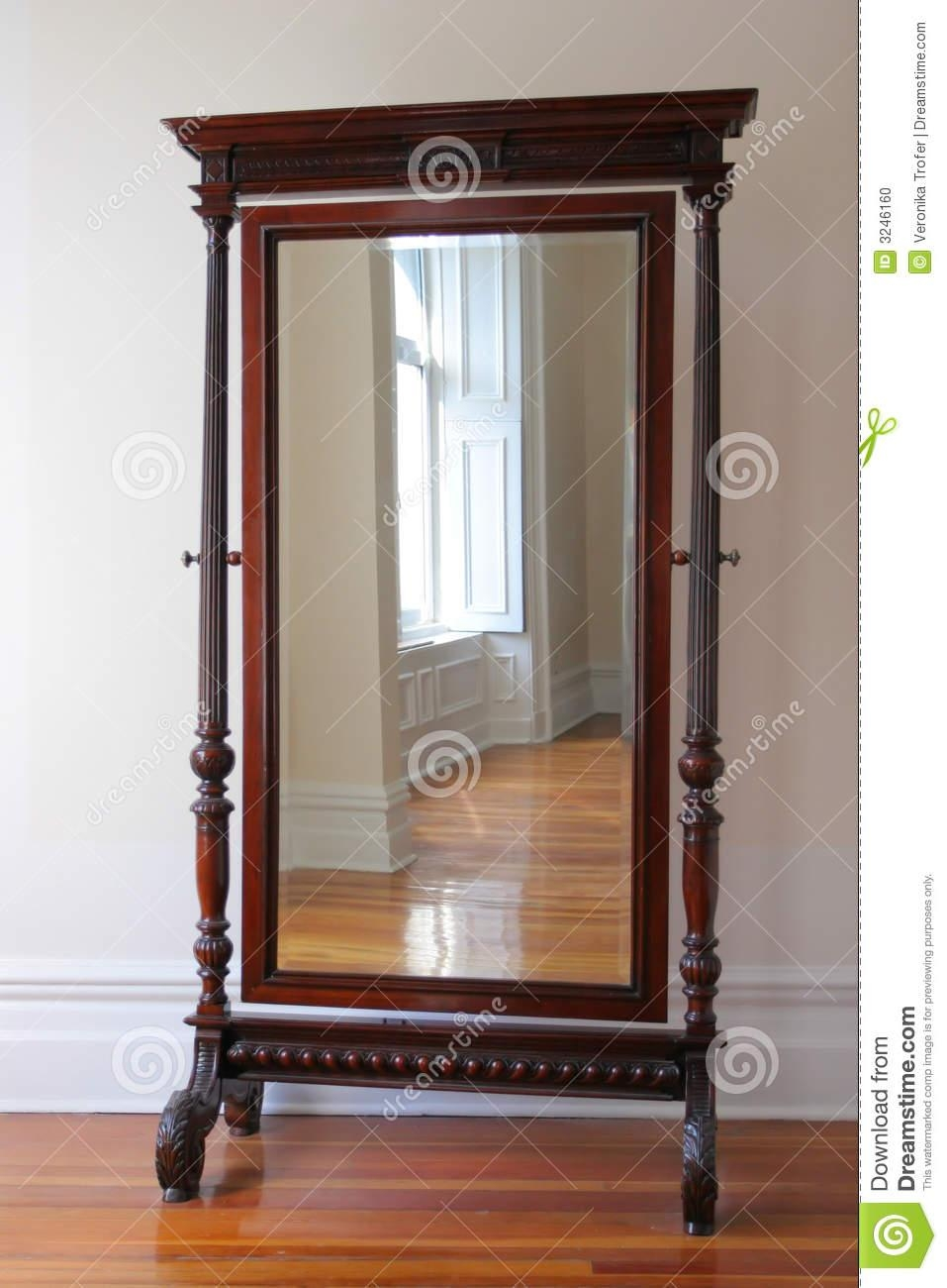 Big Antique Mirror Stock Photo – Image: 3246160 Regarding Big Antique Mirror (View 16 of 20)