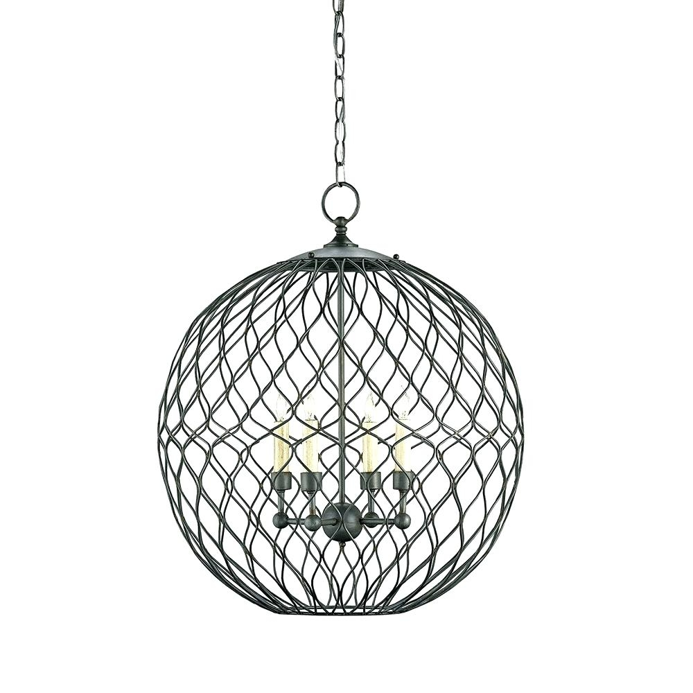 Big Chandelier Lighting Orb Chandelier Lowes Foyer Crystal Intended For Orb Chandeliers (Image 6 of 25)