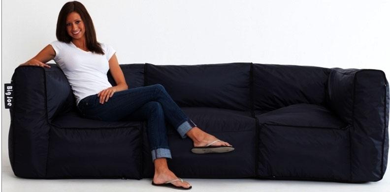 Big Joe 3 Piece Zip Modular Sofacomfort Research – 0648602 03 Within Big Joe Sofas (View 2 of 20)