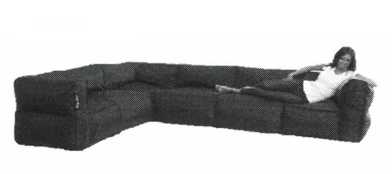 Big Joe 6 Piece Zip Modular Sectionalcomfort Research – 0649602 06 Inside Big Joe Sofas (View 4 of 20)