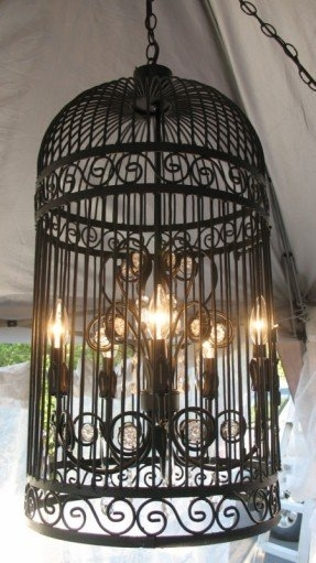 Birdcage Chandelier Foter Pertaining To Turquoise Birdcage Chandeliers (View 15 of 25)