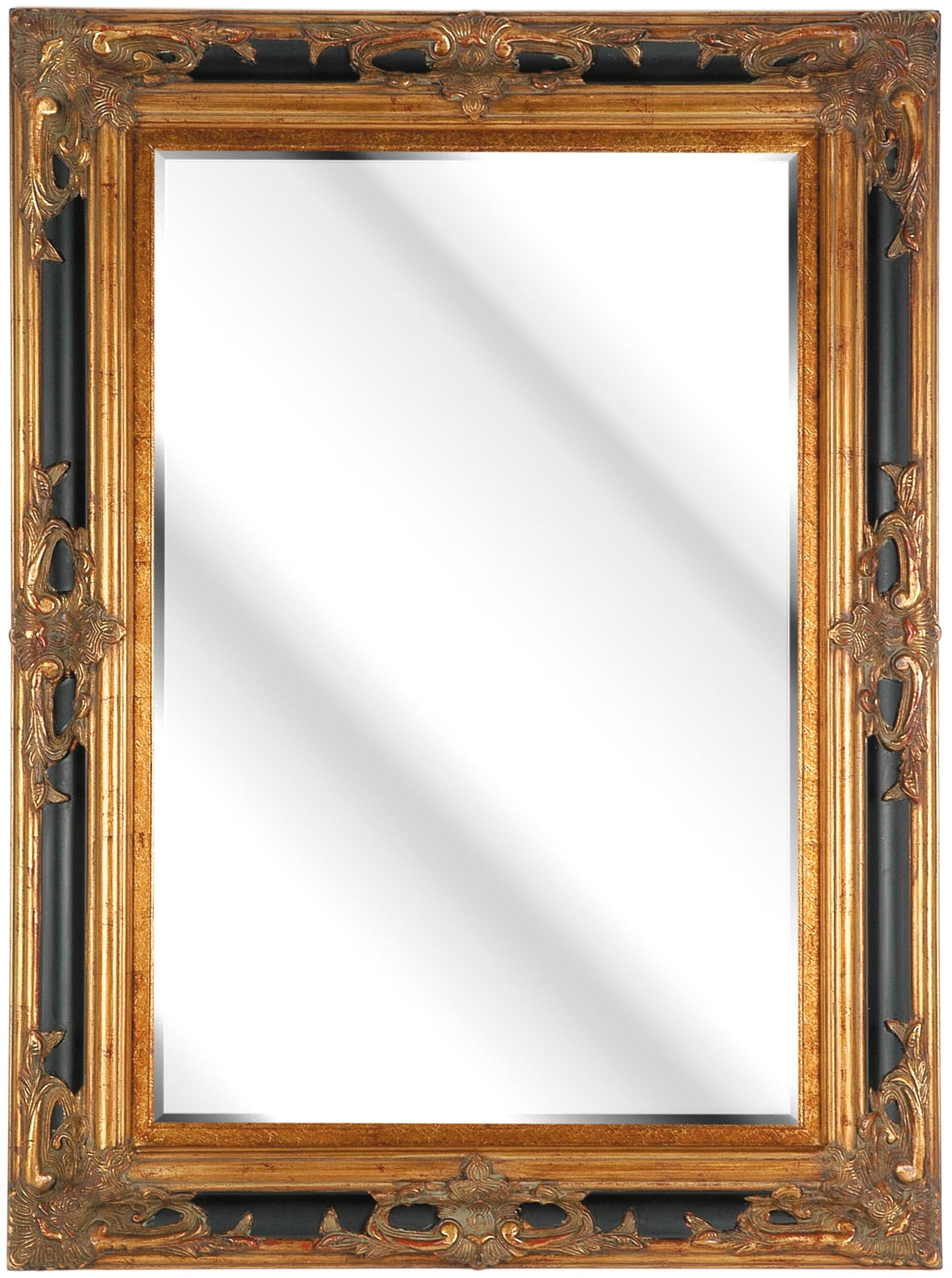 Black And Gold Framed Mirror 15 Awesome Exterior With Full Size Of In Square Gold Mirror (Image 1 of 20)