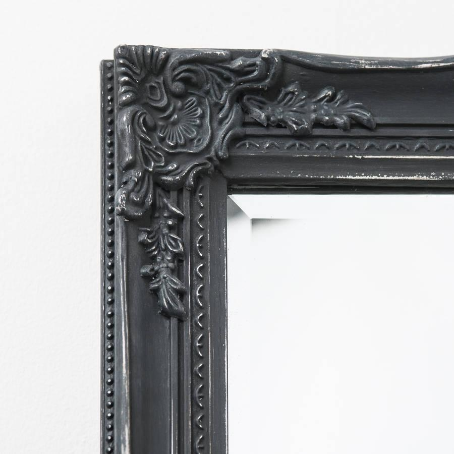 Black Antique Mirror Images – Reverse Search Intended For Black Antique Mirror (Image 11 of 20)