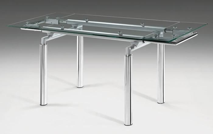 Black Glass Extending Dining Table 4 Chairs – Destroybmx Throughout Glass Folding Dining Tables (View 15 of 20)