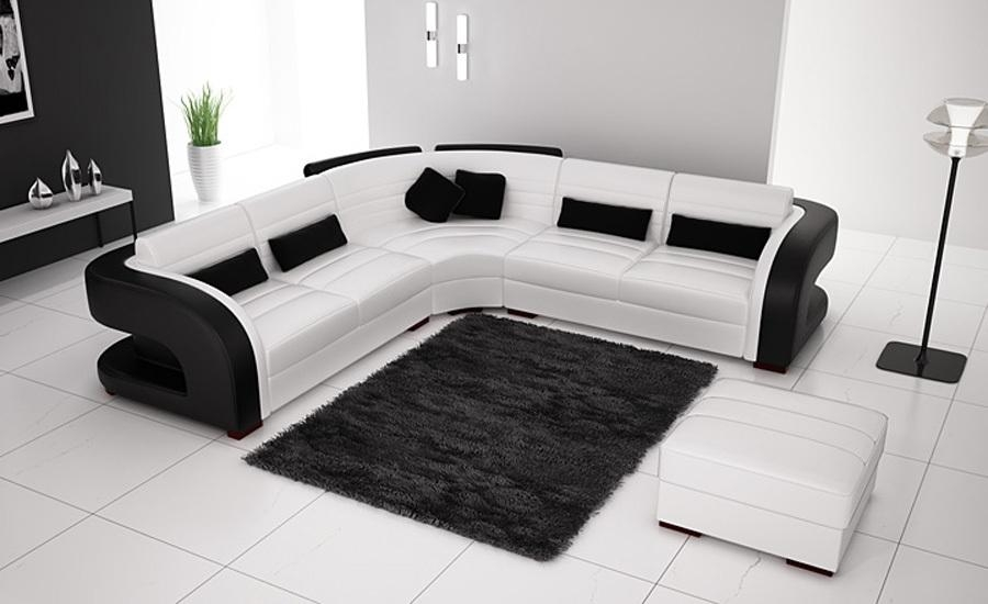 Black Leather Corner Sofa Promotion Shop For Promotional Black With Regard To Black Leather Corner Sofas (View 19 of 20)