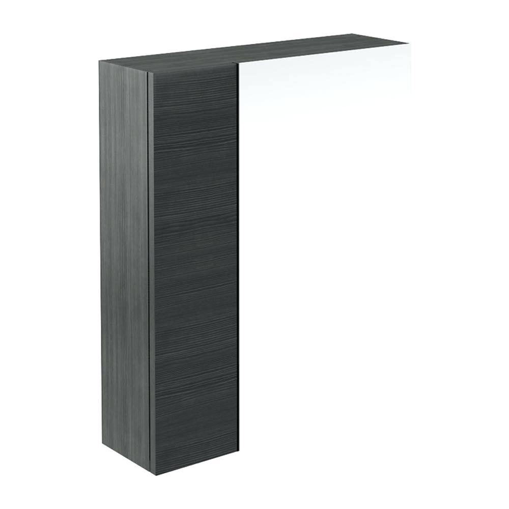 Black Mirror Cabinet – Shopwiz Throughout Black Mirrored Cabinet (Image 3 of 20)