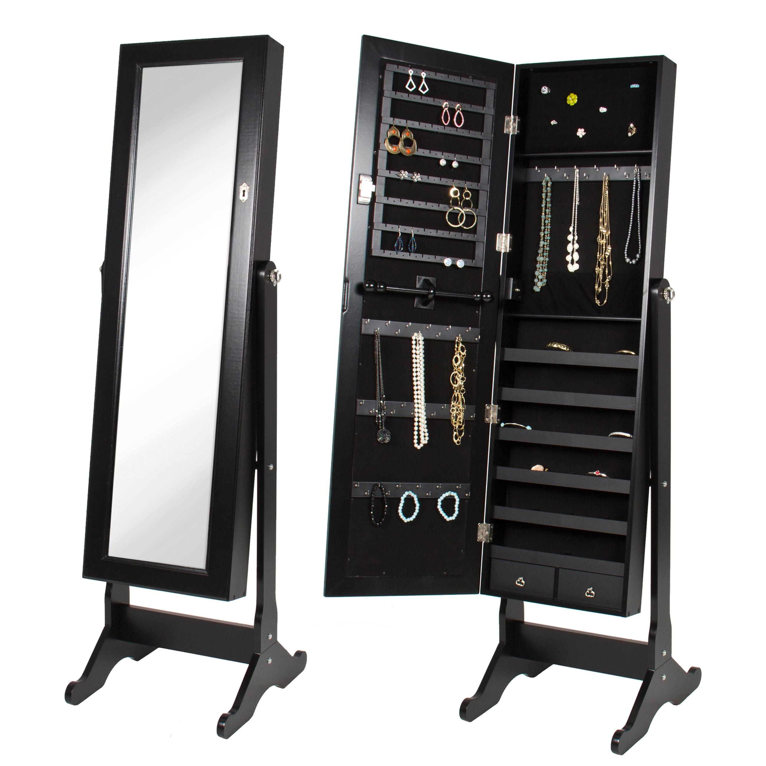 Featured Image of Black Mirrored Cabinet