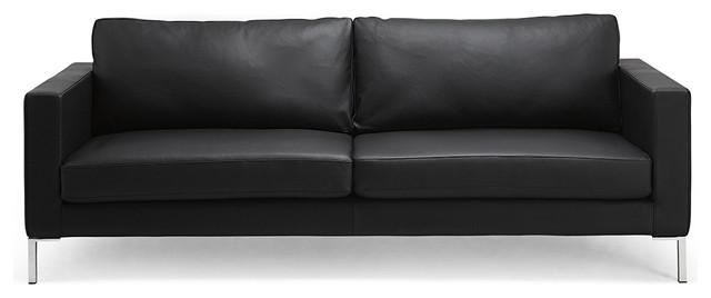 Black Modern Couch | Woodworking Plans With Black Modern Couches (Image 3 of 20)
