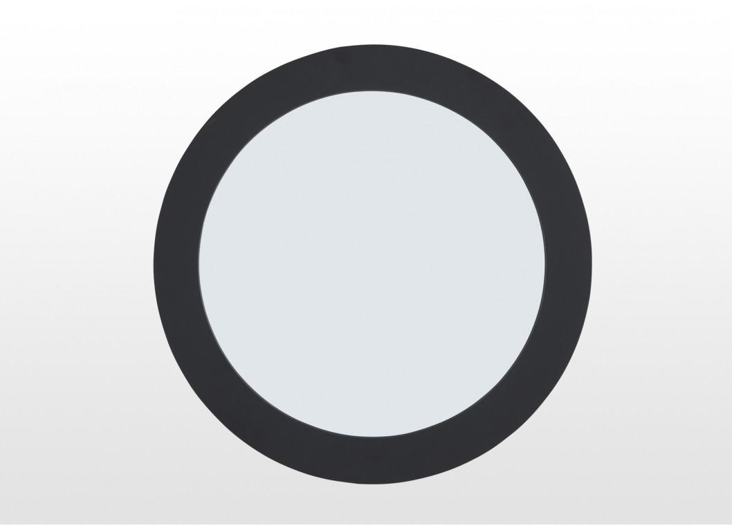 Black Round Large Wall Mirror – Lincoln Inside Large Round Black Mirror (View 8 of 20)