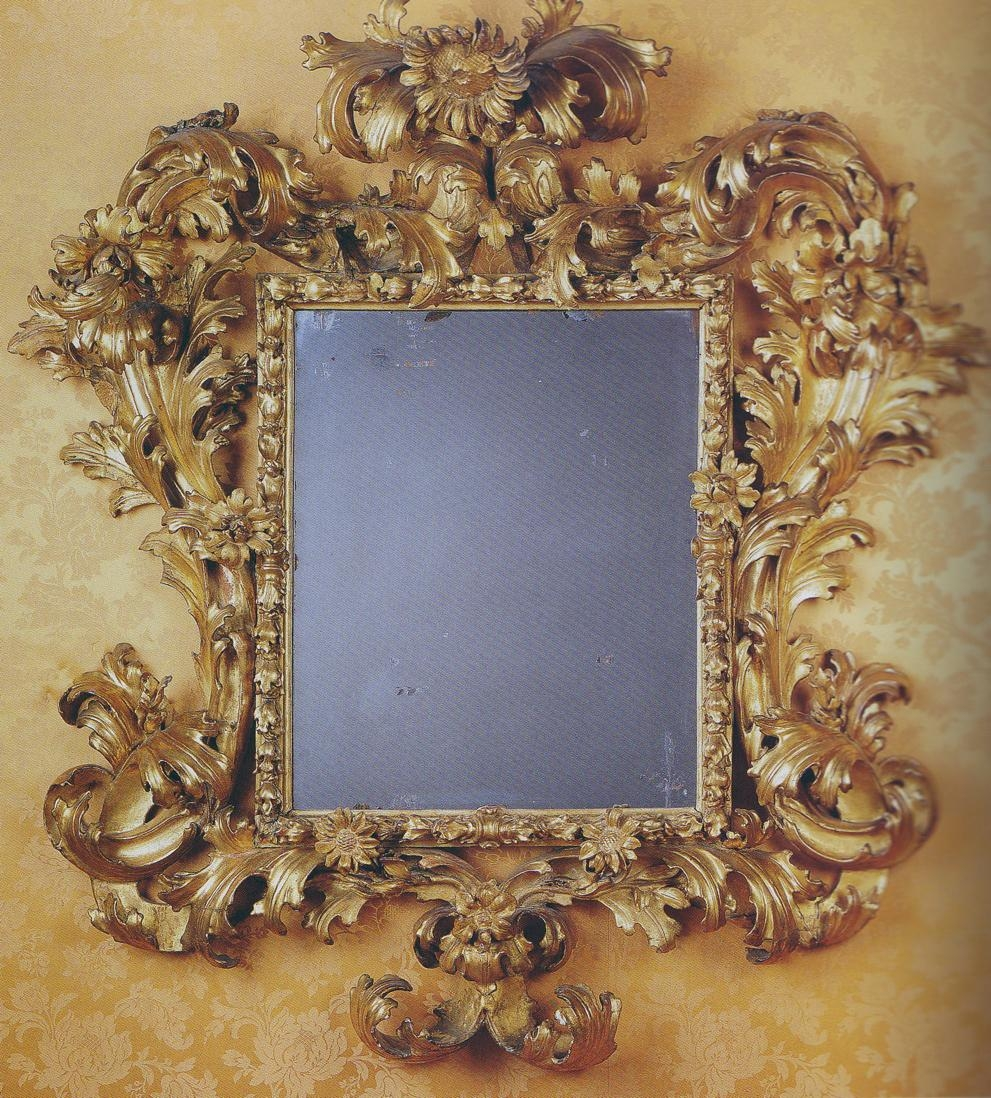 Blog 3: Antiques Hunter | Dsdn 171 Regarding Rococo Mirror Gold (Image 12 of 20)