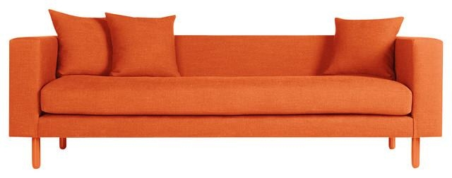 Blu Dot Mono Sofa – Modern – Sofas  Blu Dot Regarding Orange Modern Sofas (Image 1 of 20)