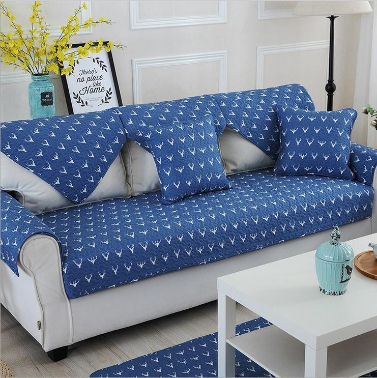 20 Best Ideas Blue Sofa Slipcovers