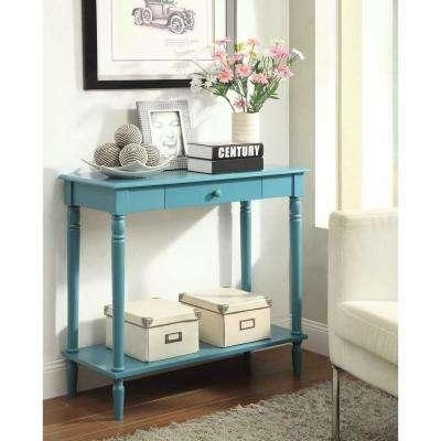 Blue – Sofa Tables – Accent Tables – The Home Depot For Blue Sofa Tabless (Image 11 of 20)