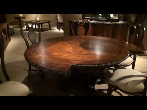 Bolero Seville Round Pedestal Dining Tableuniversal Furniture Inside Universal Dining Tables (Image 3 of 20)