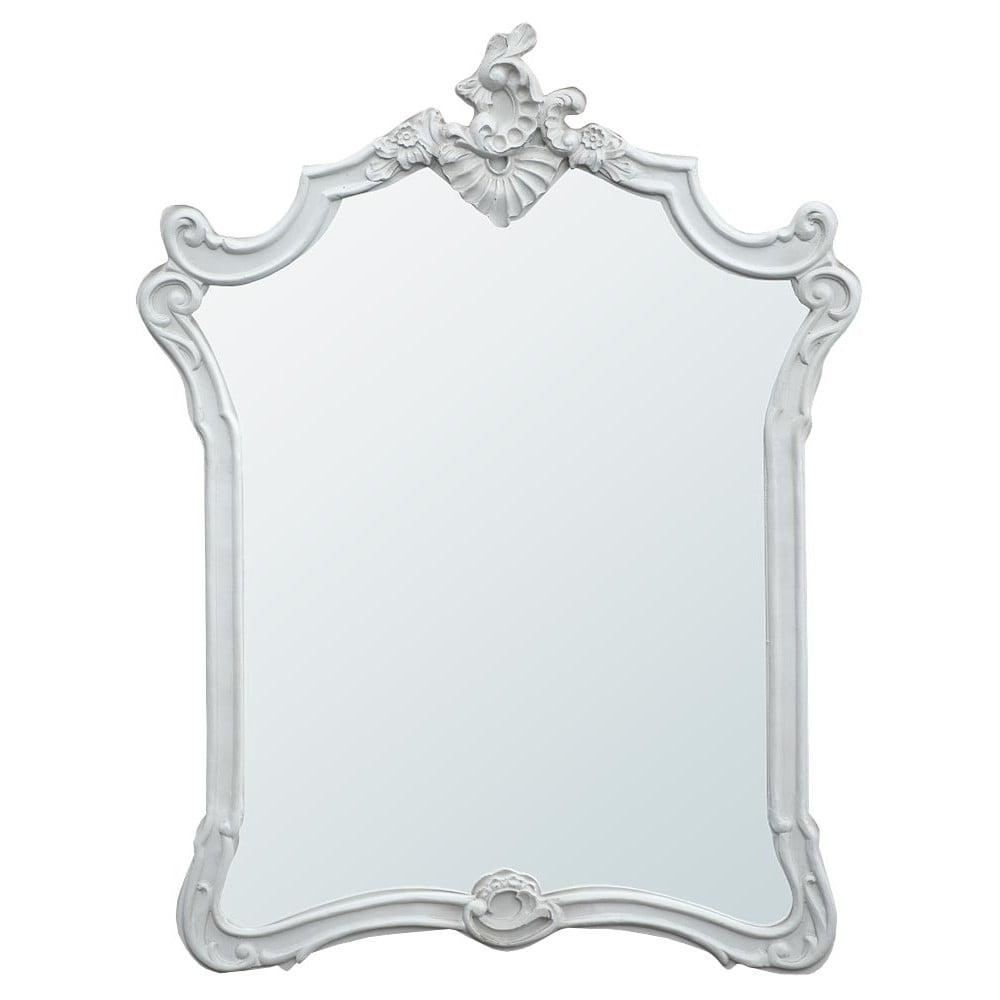 Boudoir Provence Baroque Antique French Style Mirror | French For Baroque Mirror Silver (Image 9 of 20)
