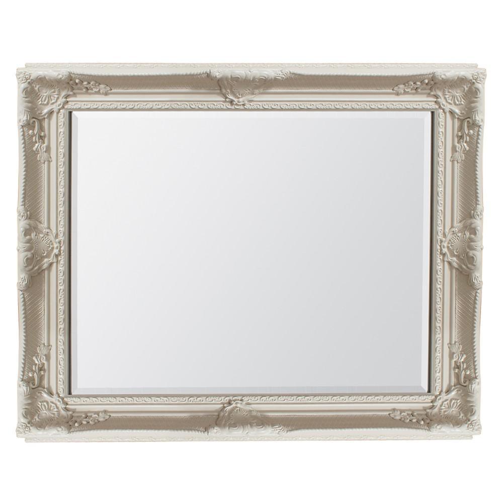 Braemar Baroque Mirror Cream | Mirrors & Art | Pagazzi Lighting For Cream Mirrors (View 4 of 20)