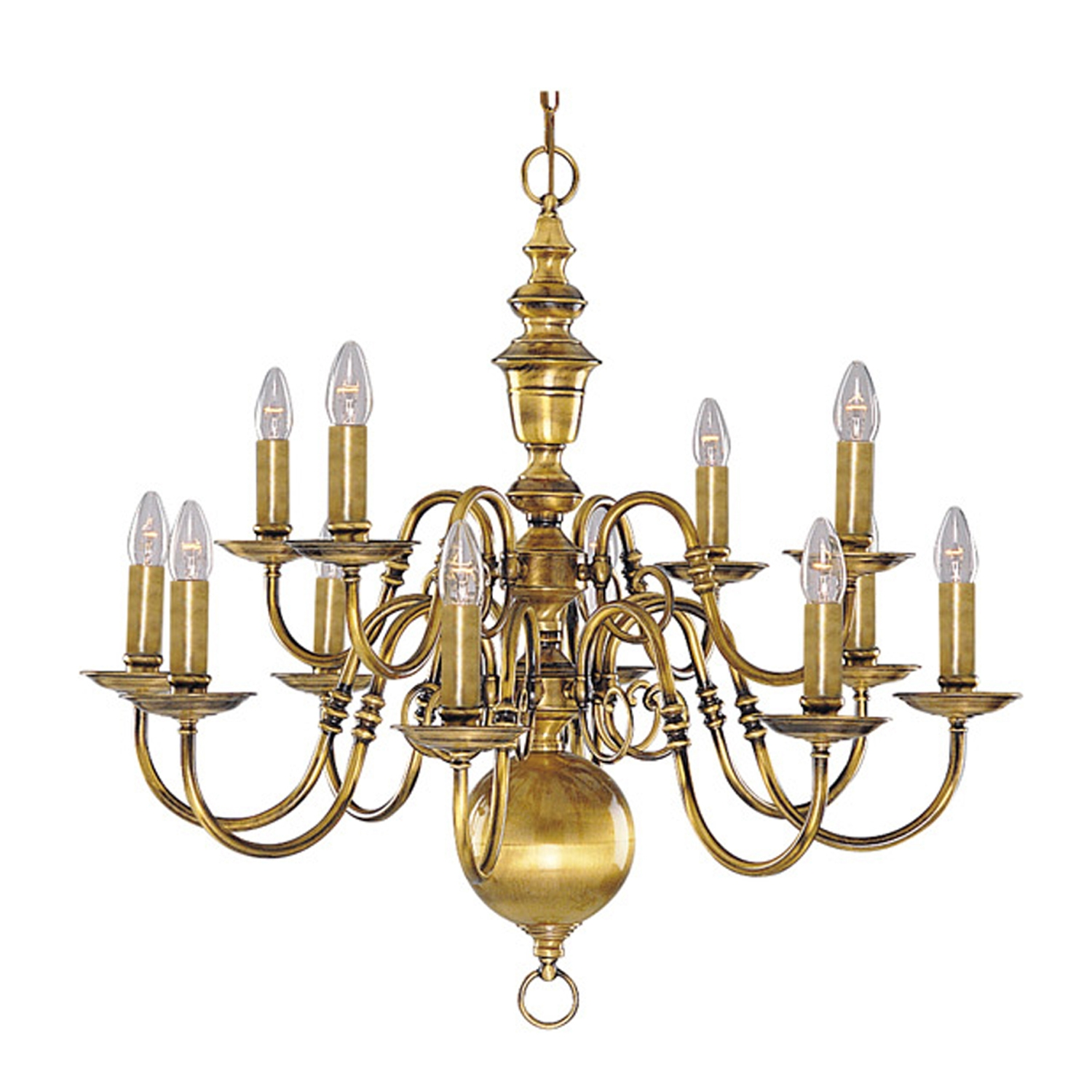 Brass Chandelier Home Designs Regarding Old Brass Chandeliers (Image 9 of 25)