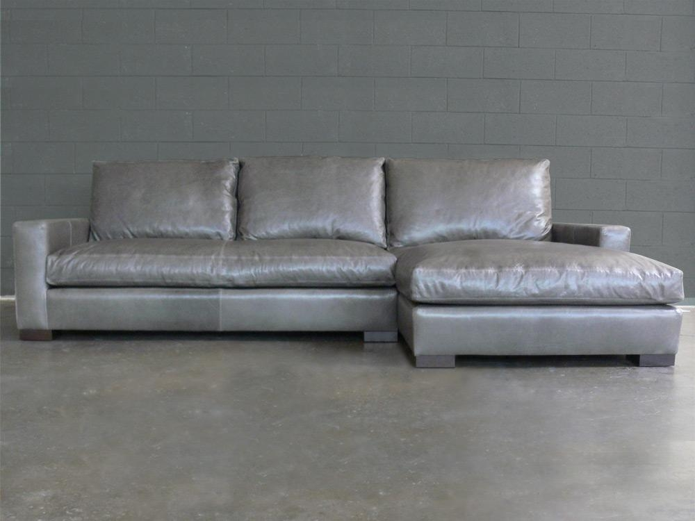 Braxton Fabric Sofa Chaise Sectional :: Sofas :: Home Intended For Braxton Sectional Sofas (Image 4 of 20)