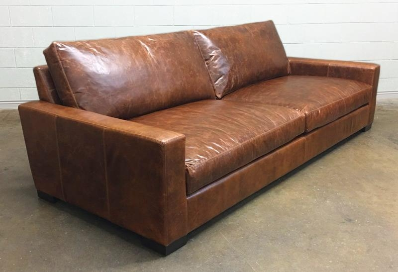 Braxton Leather Sofa And Leather Chair And A Half – Italian Inside Brompton Leather Sofas (View 16 of 20)