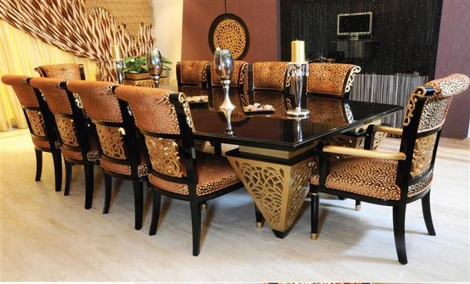 Breathtaking 10 Seat Dining Table And Chairs 89 About Remodel Regarding Dining Table And 10 Chairs (View 14 of 20)