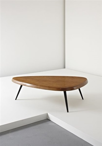 Brilliant Best Free Form Coffee Tables Regarding Free Form Coffee Table Jean Prouv And Charlotte Perriand On Artnet (View 17 of 40)