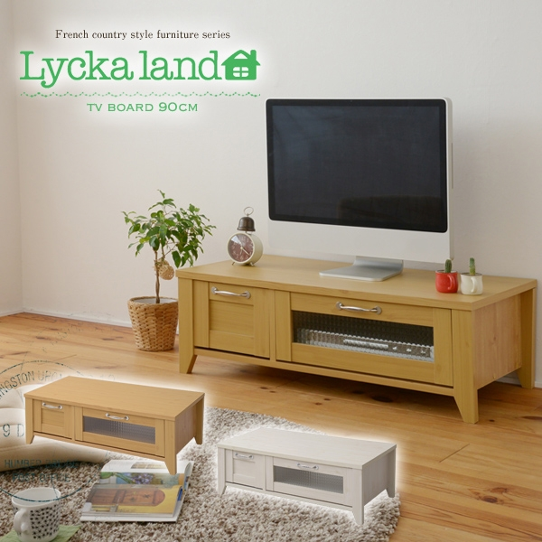 Brilliant Best French Country TV Stands Pertaining To Lamp Tyche Rakuten Global Market Lycka Land Tv Stand 90cm Width (View 48 of 50)
