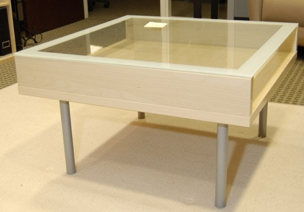 Brilliant Best Glass Top Display Coffee Tables With Drawers Regarding Ikea Coffee Table Glass Top Roselawnlutheran (Image 15 of 50)