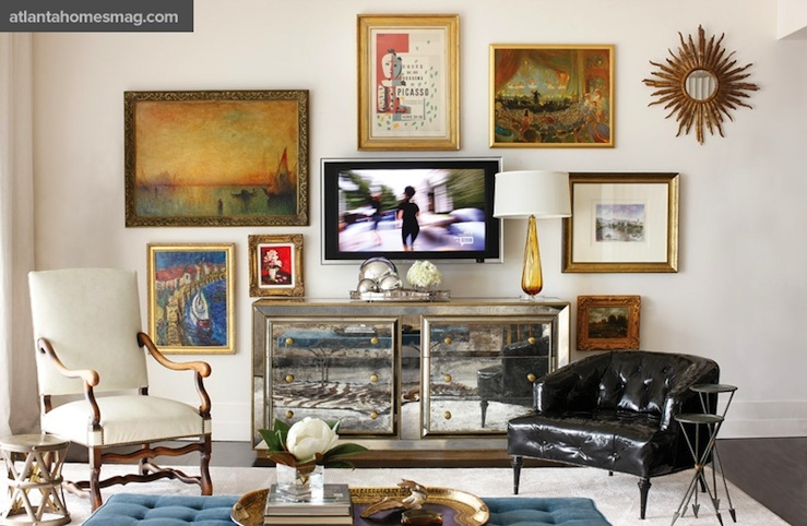 Brilliant Best Gold TV Cabinets With Black And Gold Tv Cabinet Design Ideas (Image 9 of 50)