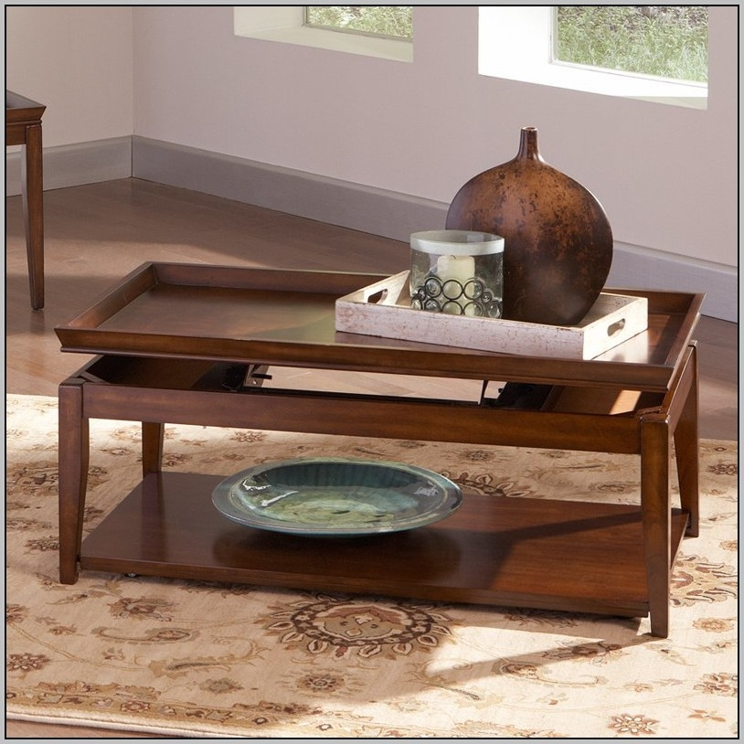 Brilliant Best Logan Lift Top Coffee Tables Regarding Logan Cherry Lift Top Coffee Table Coffee Table Home (Image 10 of 50)