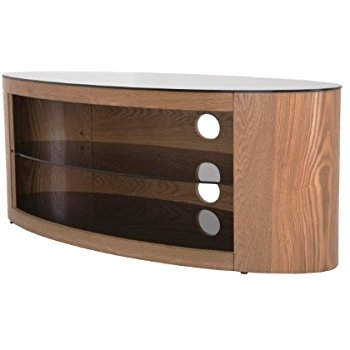 Brilliant Best Oval TV Stands Within Amazon Avf Fs1100buco A Buckingham Oval Affinity Tv Stand (View 23 of 50)