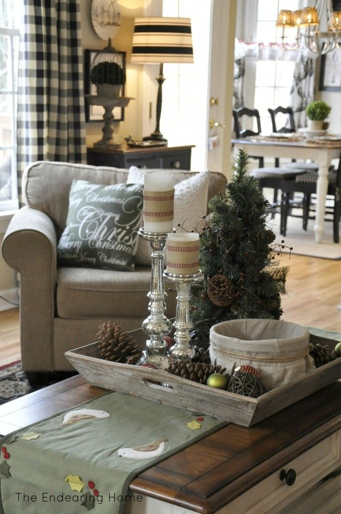 Brilliant Best Rustic Christmas Coffee Table Decors For Best 187 Rustic Christmas Images On Pinterest Diy And Crafts (Image 11 of 50)