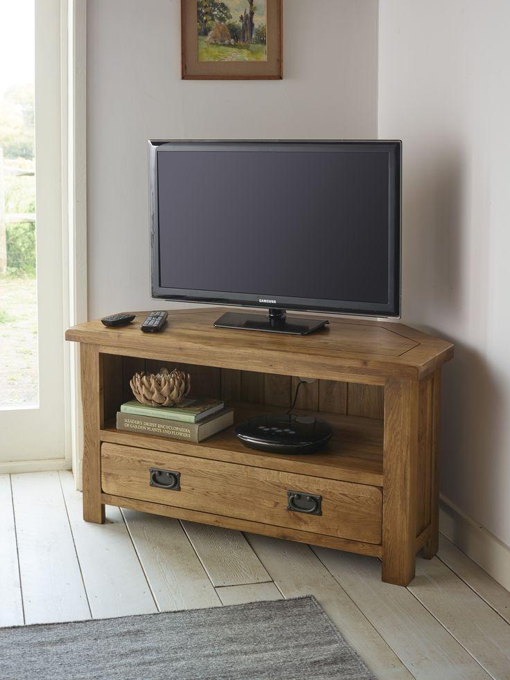 Brilliant Best Solid Oak Corner TV Cabinets With Regard To 25 Best Oak Corner Tv Unit Ideas On Pinterest Oak Corner Tv (View 29 of 50)