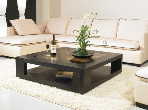 Brilliant Best Square Coffee Tables With Regard To Adorable Square Glass Top Coffee Table Best Images About (Image 8 of 50)