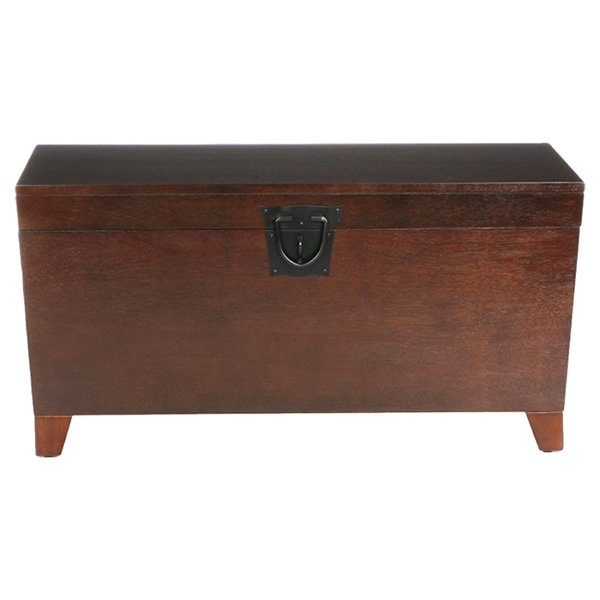 Brilliant Best Wooden Trunks Coffee Tables For Shop 770 Decorative Trunks Wayfair (Image 9 of 40)