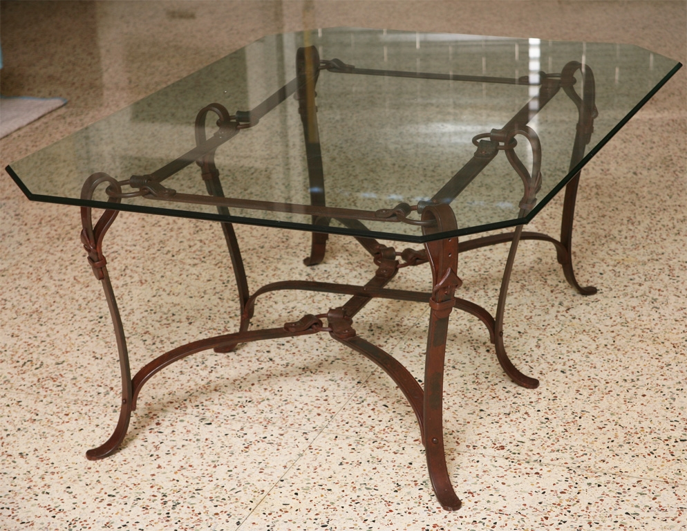 Brilliant Best Wrought Iron Coffee Tables With Regard To Wrought Iron Coffee Table Furniture (Image 10 of 50)