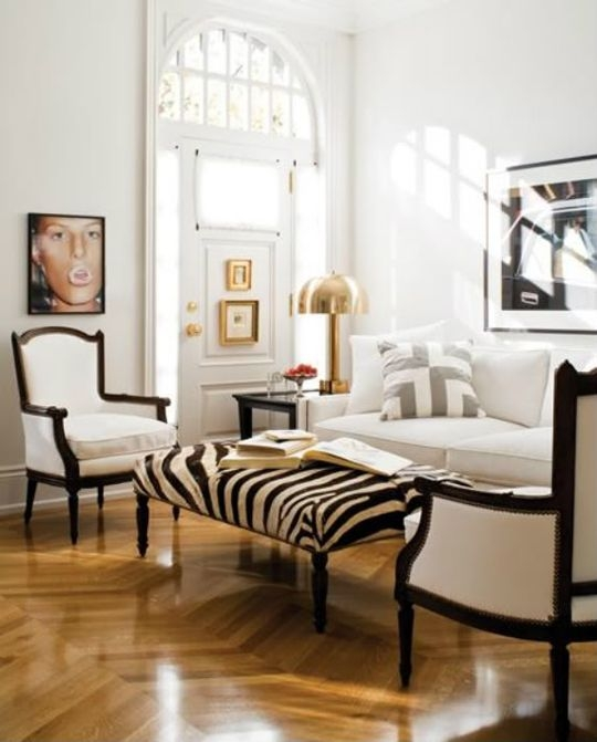 Brilliant Brand New Animal Print Ottoman Coffee Tables With Zebra Print Ottoman Home Hold Design Reference (Image 8 of 50)