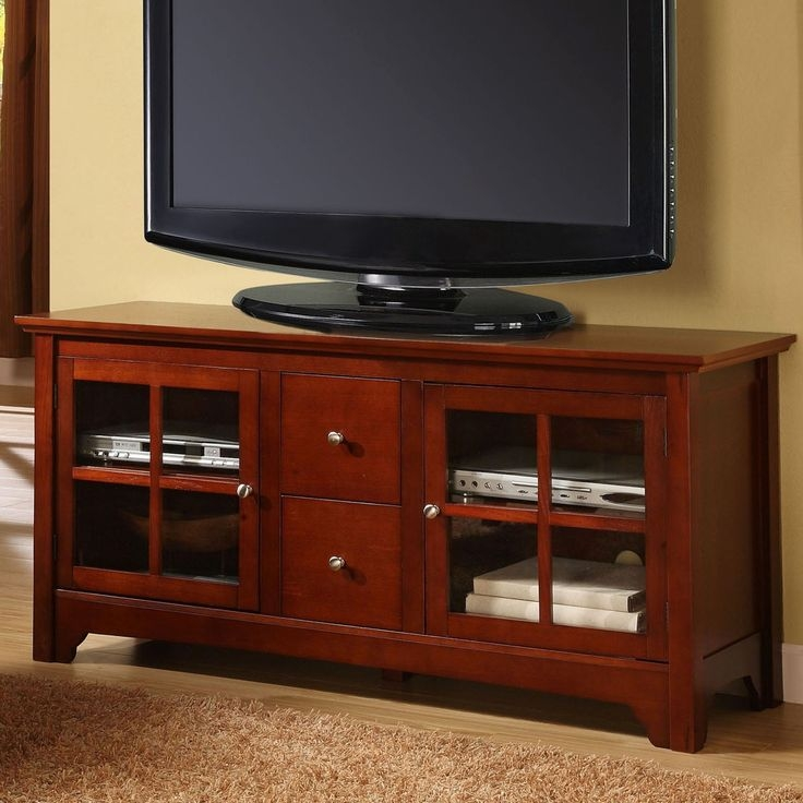 Brilliant Brand New Cherry TV Stands Inside Design Cherry Wood Tv Stand Ideas Paysagedecor (Image 10 of 50)
