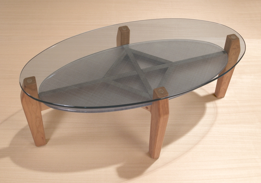 Brilliant Brand New Oval Glass Coffee Tables Intended For Oval Glass Coffee Table Shop Oval Cocktail Tables Stoneline (Image 10 of 50)