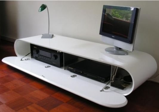Featured Image of Oval White TV Stands