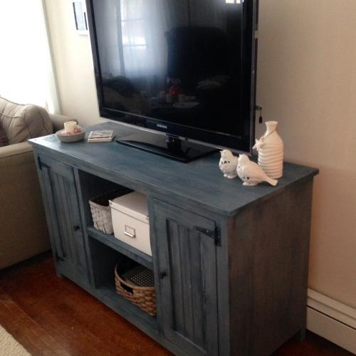 Brilliant Brand New Painted TV Stands Inside Painted Tv Stand Forget Them Not Home Decor (Image 11 of 50)