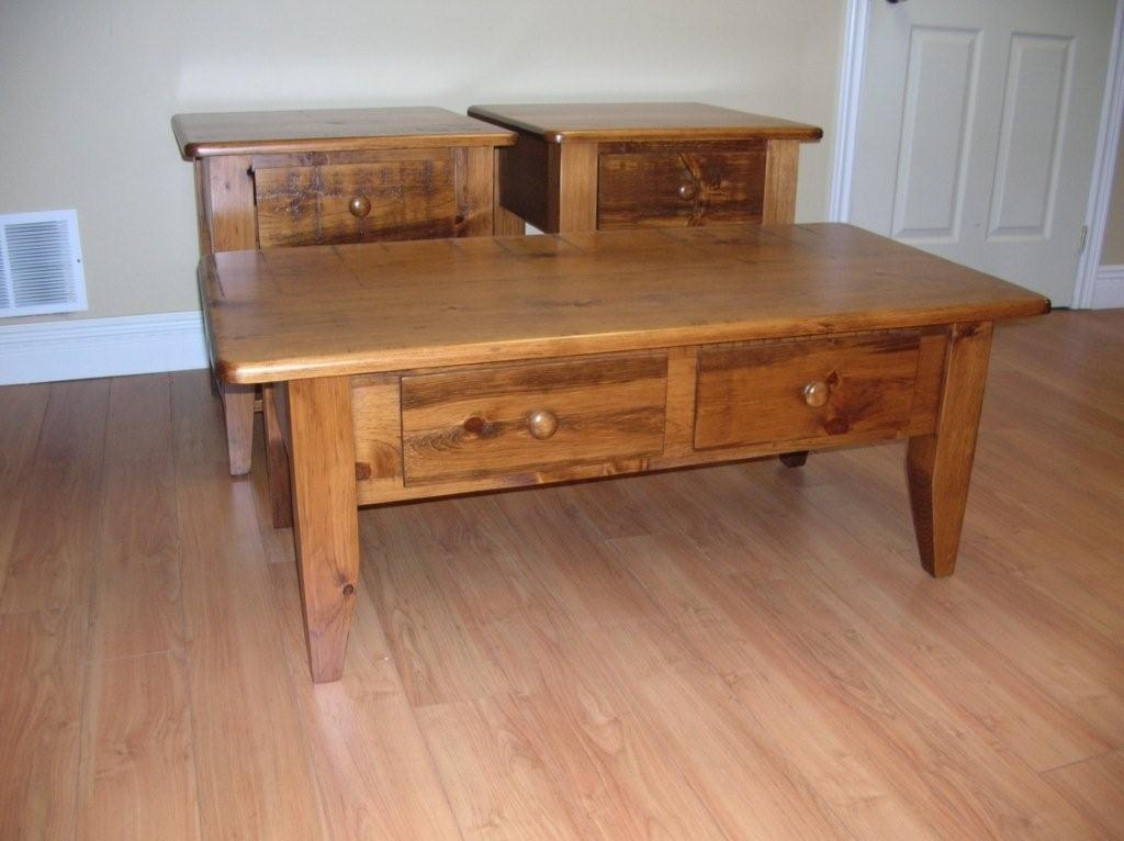 Brilliant Brand New Rustic Coffee Table Drawers For Beautiful Rustic Pine Coffee Table (View 28 of 50)