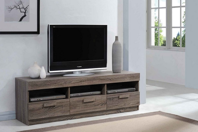 Brilliant Brand New Rustic Oak TV Stands With Alvin Collection Rustic Oak (View 16 of 50)