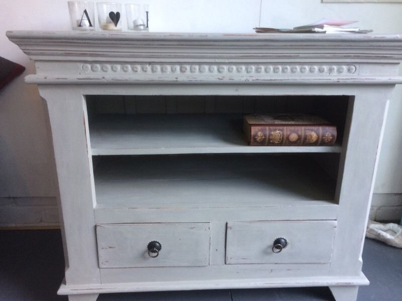 Brilliant Brand New Shabby Chic TV Cabinets Throughout Shab Chic Tv Cabinet In Addlestone Surrey Gumtree (View 23 of 50)
