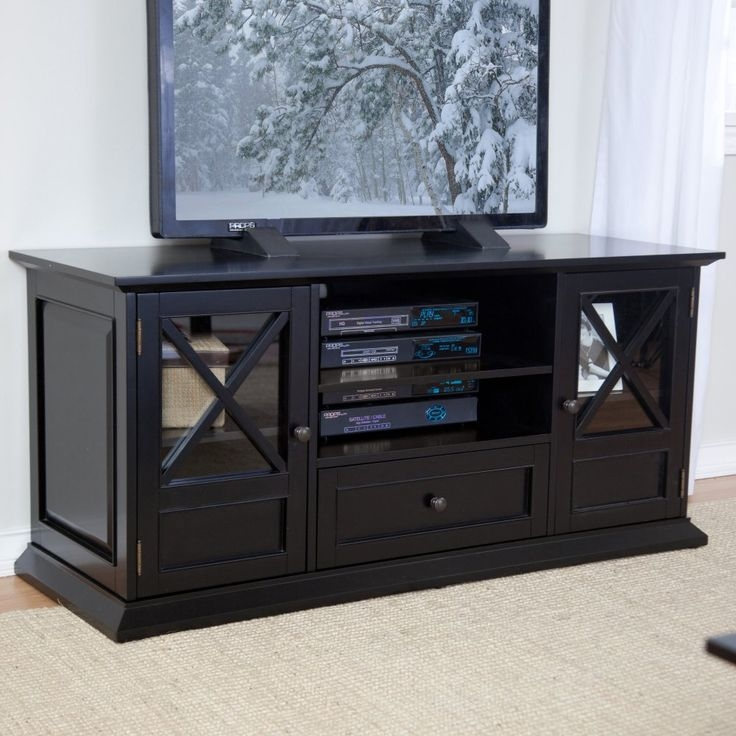 Brilliant Brand New Shiny Black TV Stands Pertaining To Best 25 Black Tv Stand Ideas On Pinterest Living Room Sets Ikea (Image 9 of 50)