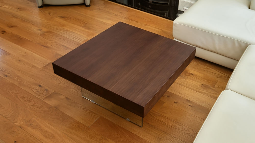 Brilliant Brand New Square Dark Wood Coffee Tables Pertaining To Dark Wood Coffee Table (Image 6 of 50)