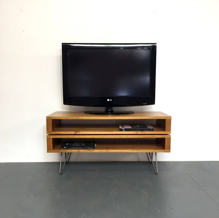 Brilliant Brand New TV Stands 100cm With 27 Best Derelict Design Images On Pinterest Hairpin Legs Coffee (View 35 of 50)